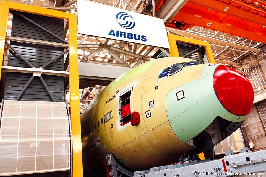 L'usine Airbus jean-Luc Lagardère