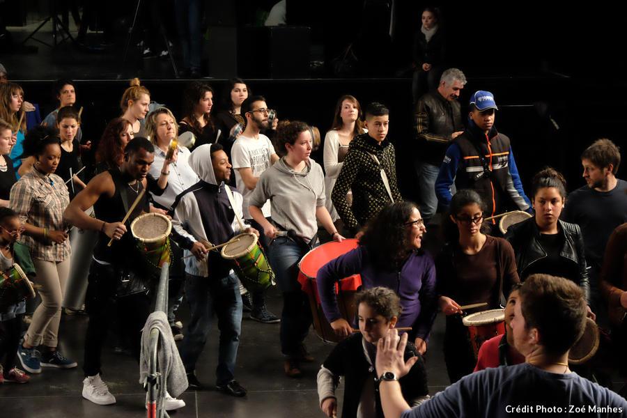 Ateliers de percussions à Bordeaux