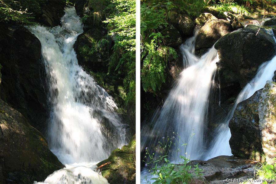L cascade de Chorsin