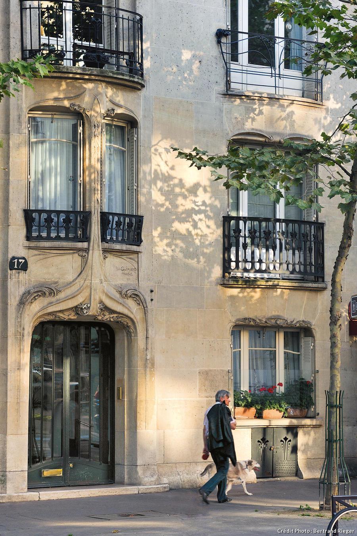 L'un des immeubles de Guimard
