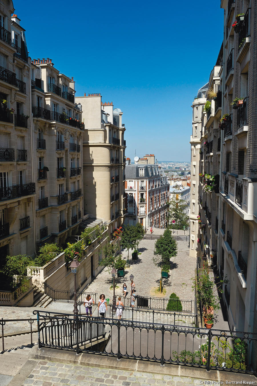 La rue du Mont-Cénis