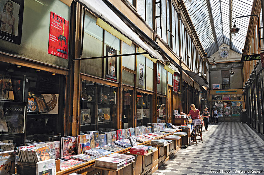 Passage Jouffroy à Paris