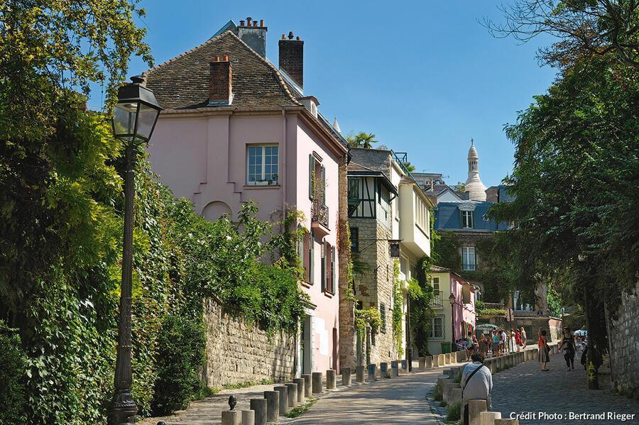 La rue de l'Abreuvoir