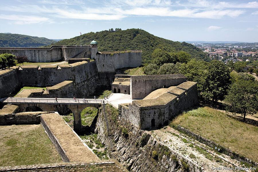 La citadelle de Besançon.