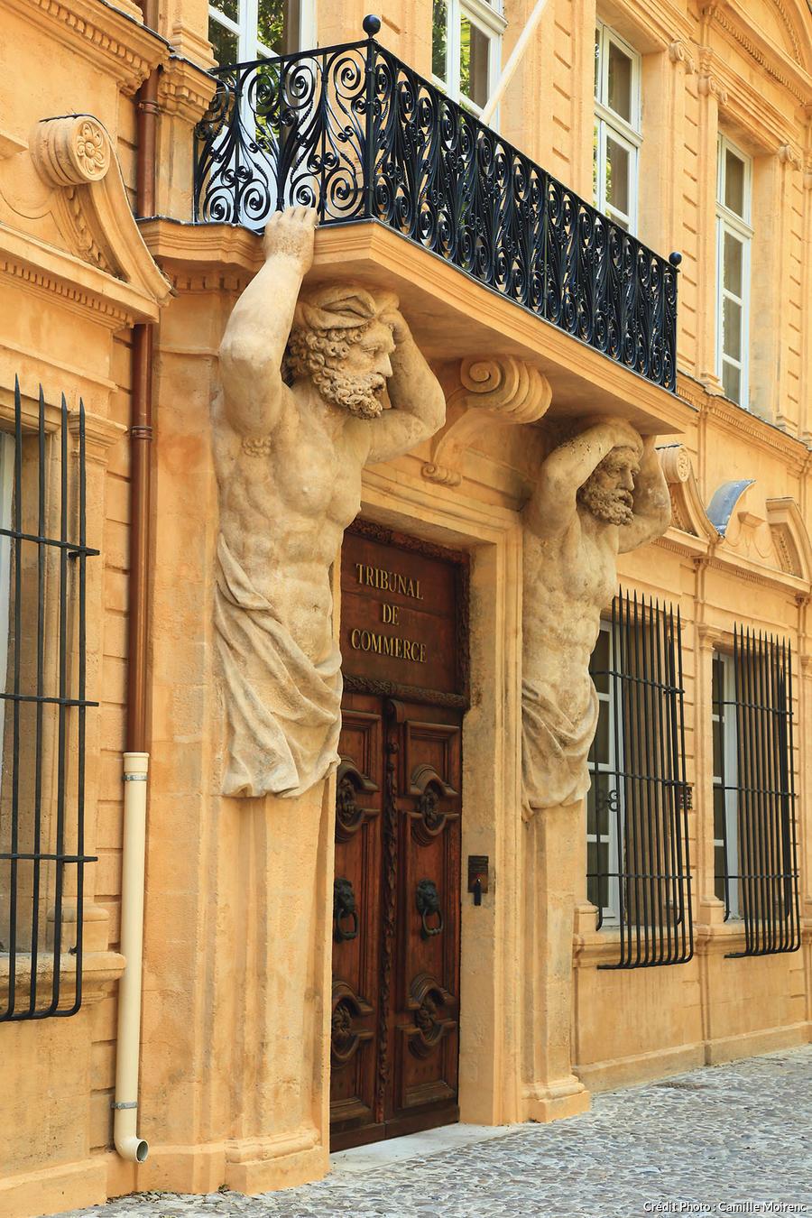 Les atlantes de l'hôtel Maurel-de-Pontèves