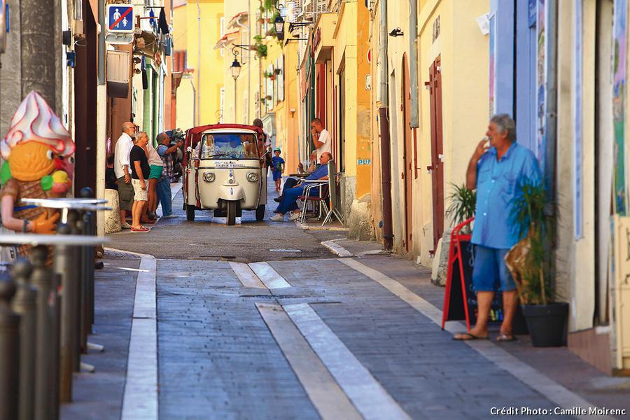 La quartier du Panier à Marseille
