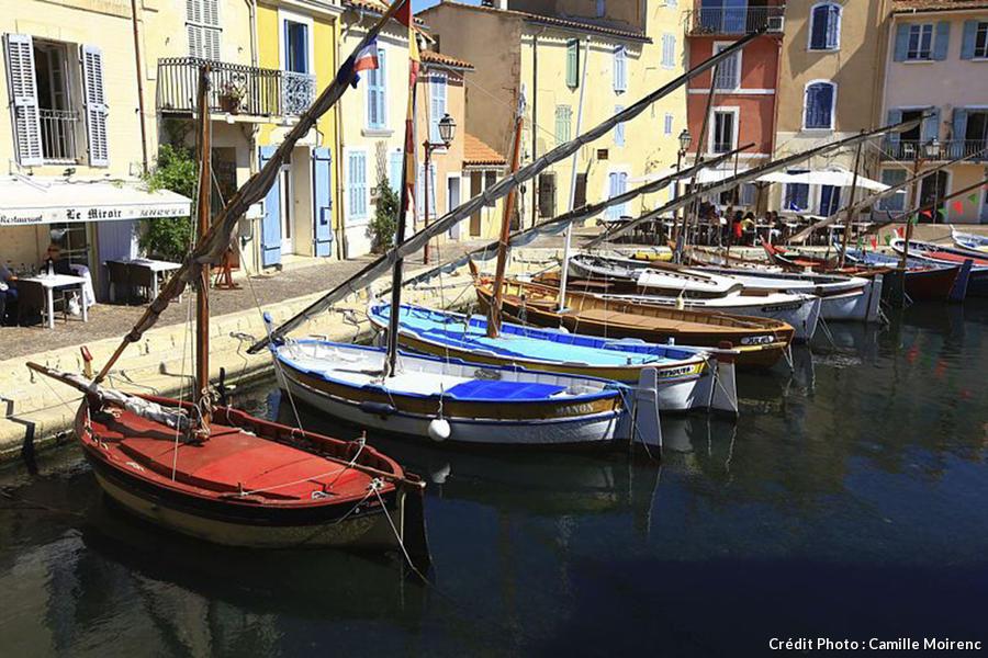 Pointus dans le port de Martigues