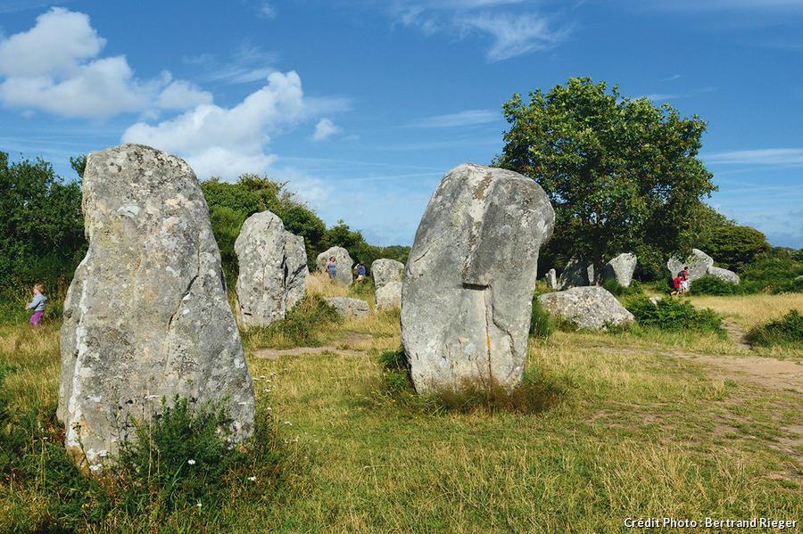 Alignement mégalithique de Kerzérho à Erdeven