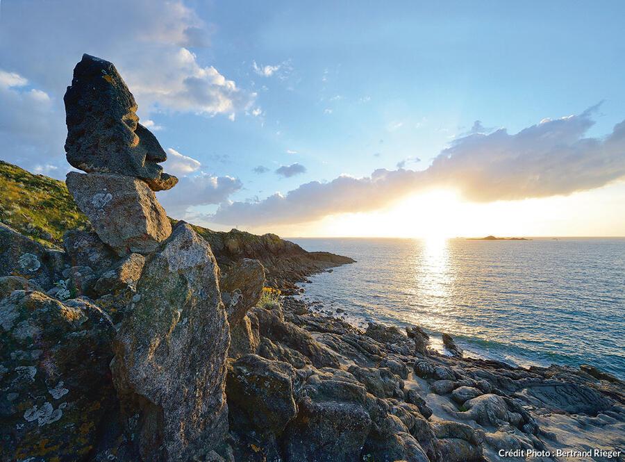 Les rochers de Rothéneuf