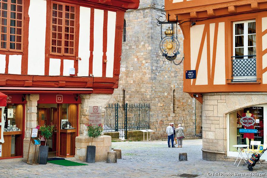 Maisons à colombages à Vannes