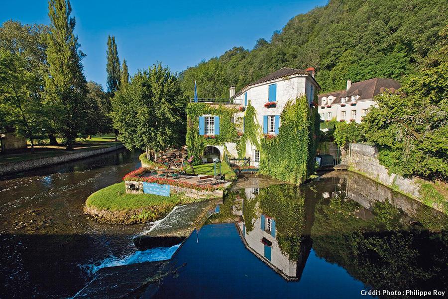 Le Relais et Châteaux de Brantôme, le Moulin de l'Abbaye,