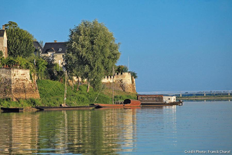 Embarcadère à Candes-Saint-Martin