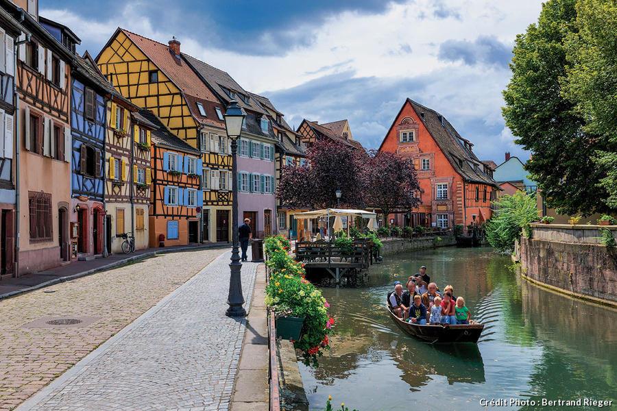 La petite Venise, un quartier de la Krutenau arrosé par la rivière Lauch.