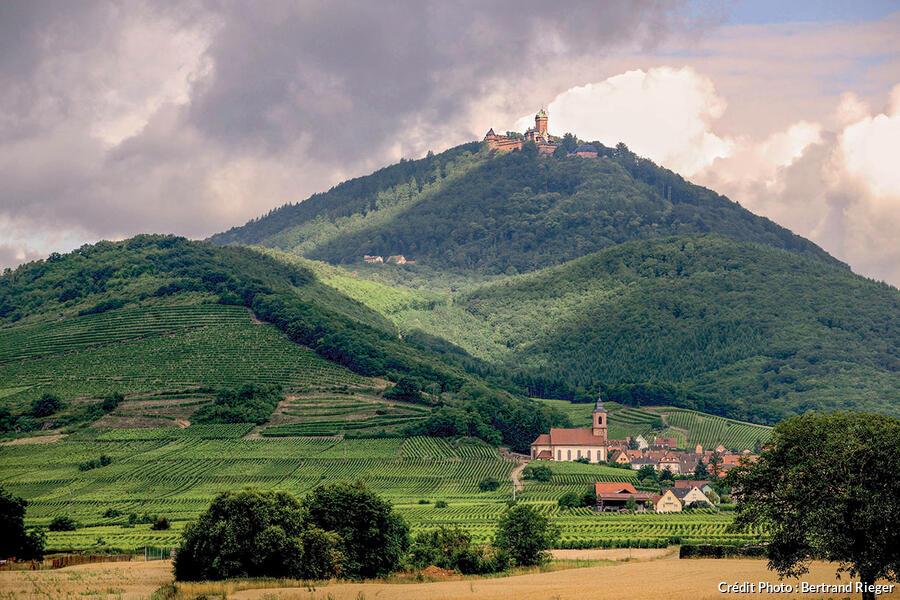 Le village bas-rhinois d'Orschwiller.