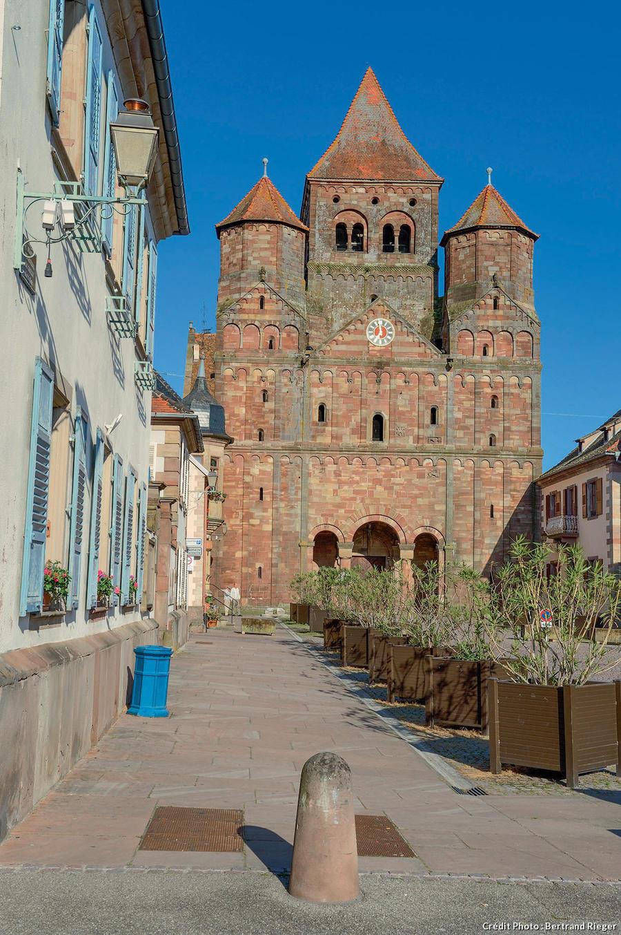 L'abbatiale Saint-Etienne