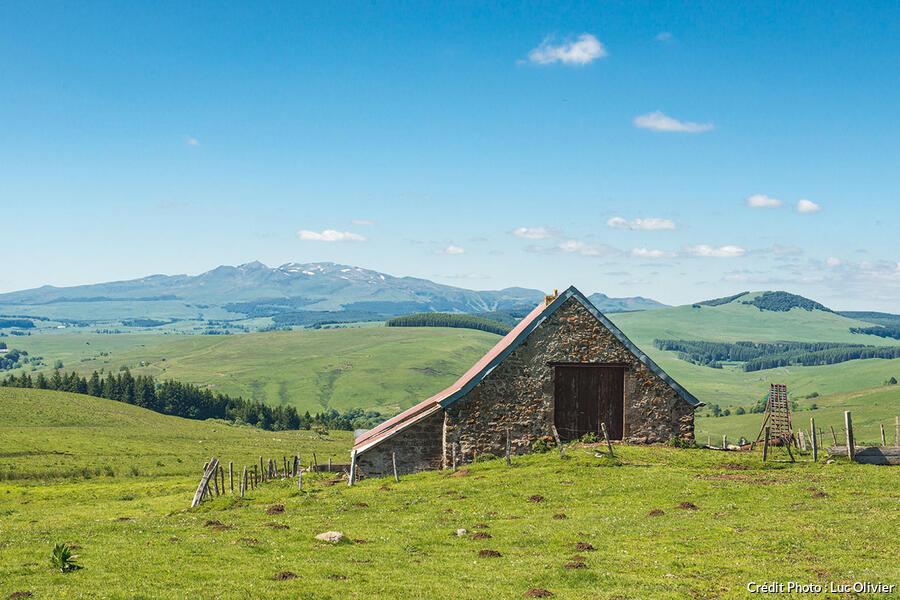 Paysage à proximité de Montgreleix