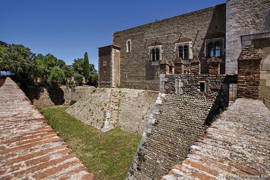 Fortifications autour du palais des rois de Majorque