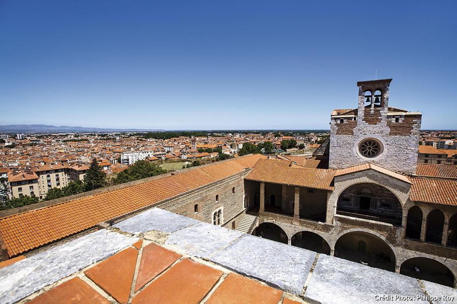 Le palais des rois de Majorque à Perpignan.