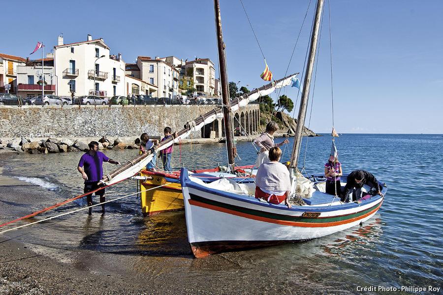 Les barques catalanes de Banyuls