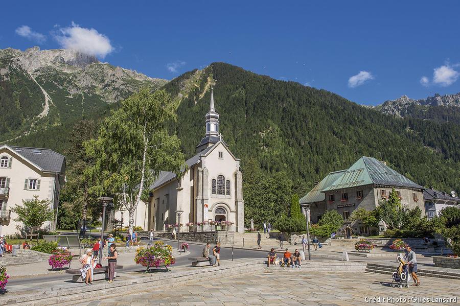 L'église Saint-Michel à Chamonix