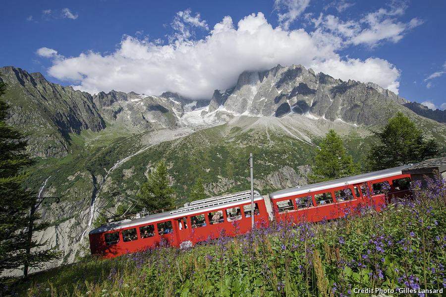 Le train à crémaillère du Montenvers
