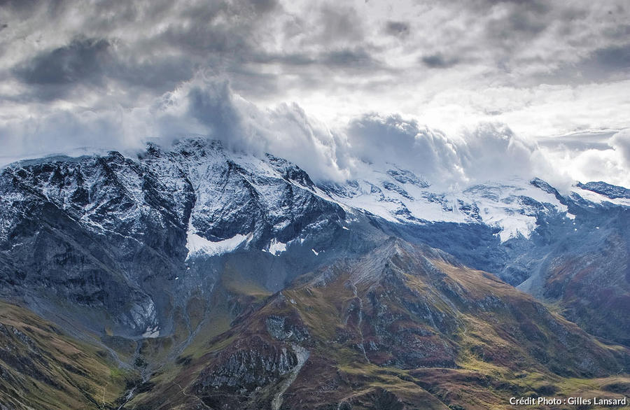 Vue depuis le sommet du Petit Mont Blanc