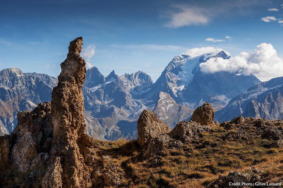 Le versant oriental du Petit Mont Blanc