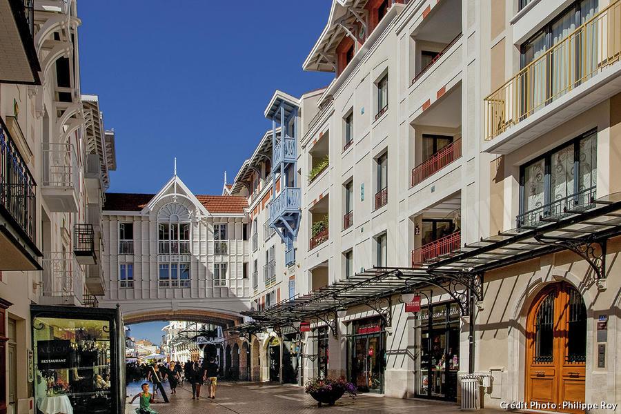 La rue Jéhenne à Arcachon
