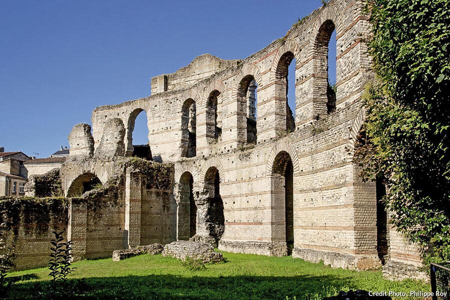Le palais Gallien à Bordeaux