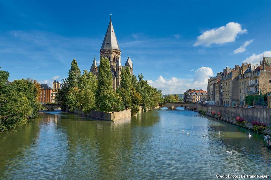 Le Temple Neuf à Metz
