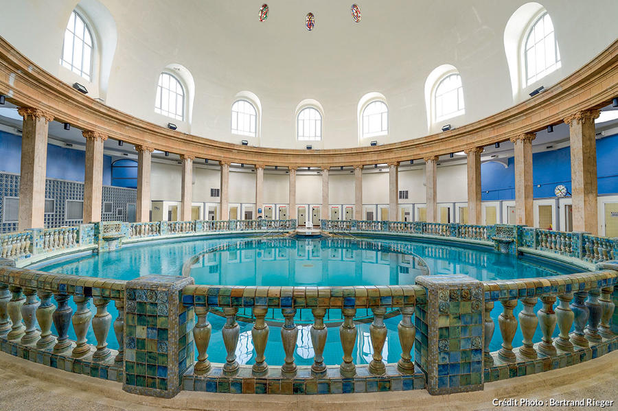 La piscine ronde de Nancy Thermal