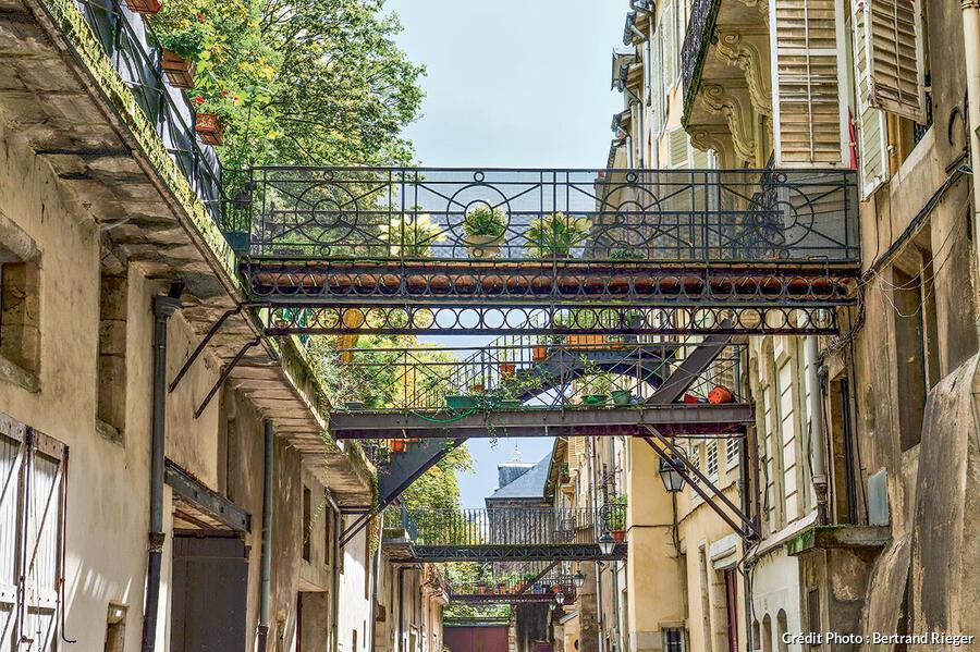 La rue des Écuries, Nancy
