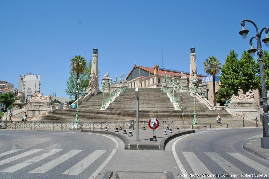 Gare Saint-Charles à Marseille