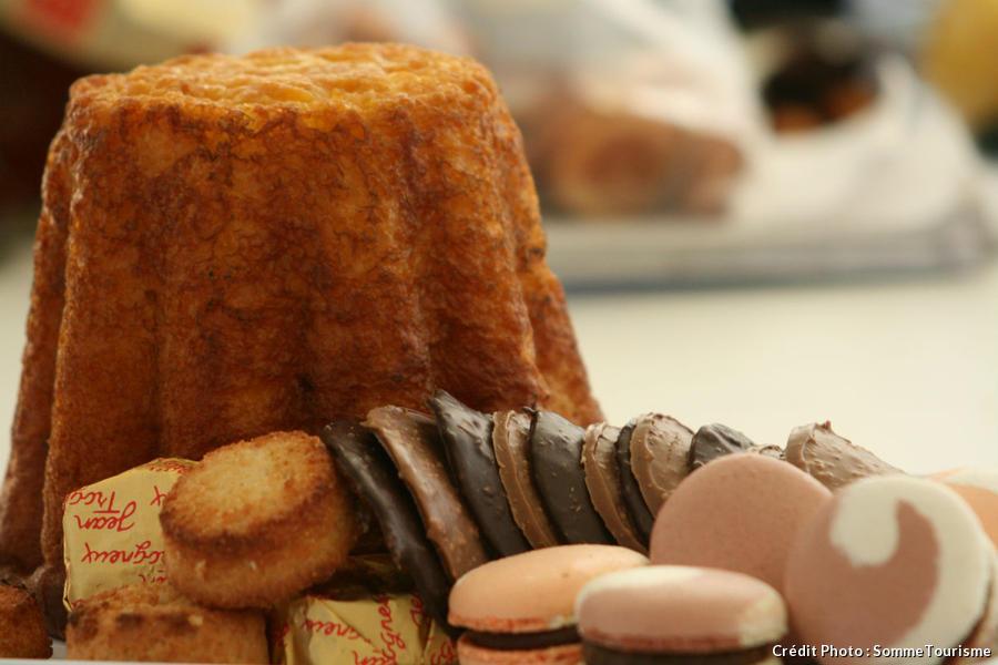 un gâteau battu d'Amiens