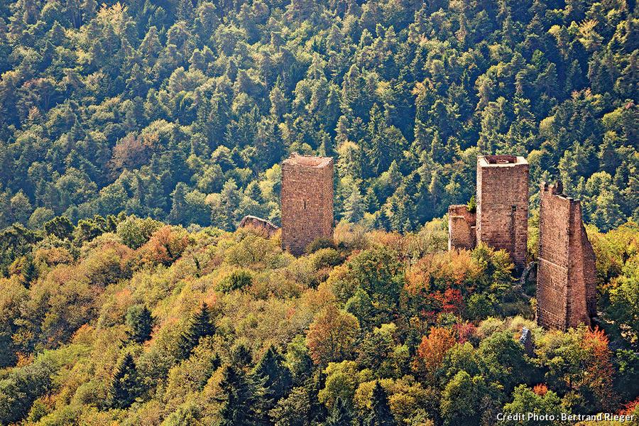 Les donjons d'Eguisheim