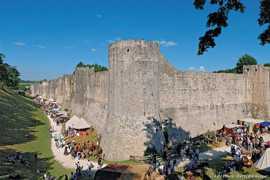château fort de Provins