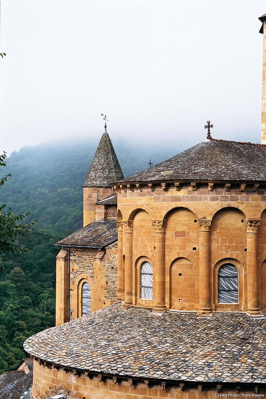 L'abbatiale Sainte-Foy à Conques