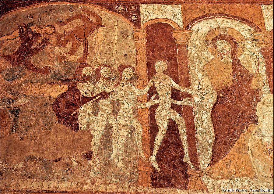 Fresques de la chapelle de Lugaut