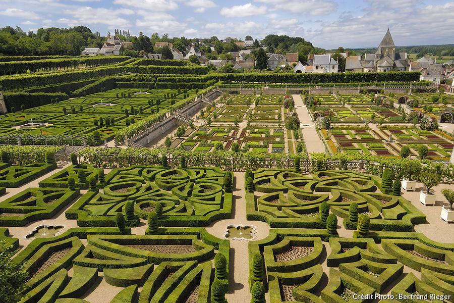 Jardins à la française de Villandry