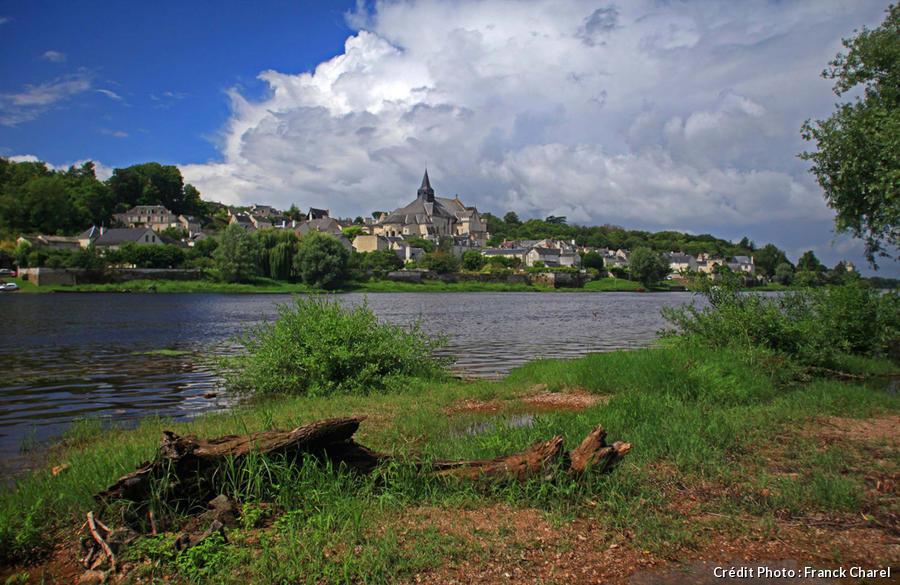 Panorama de Candes-Saint-Martin