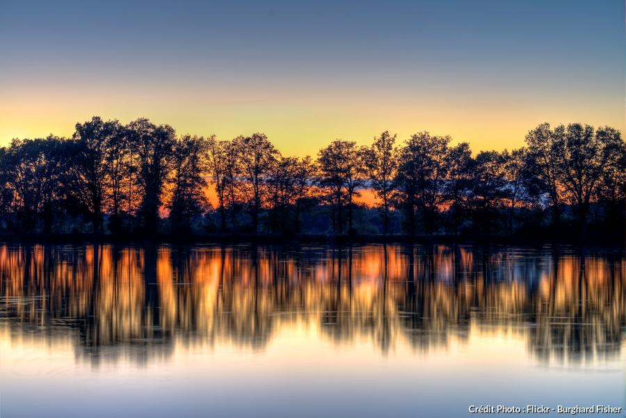 Lac de Bossée près de Poitiers