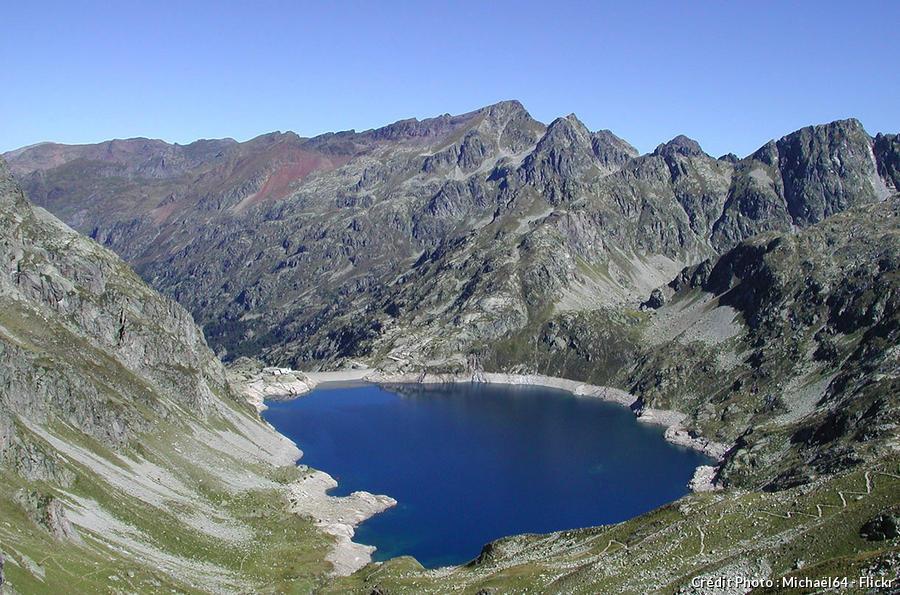 Le lac d'Artouste