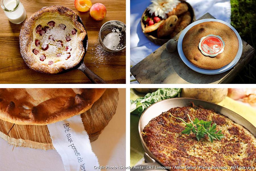 Les spécialités culinaires du Limousin