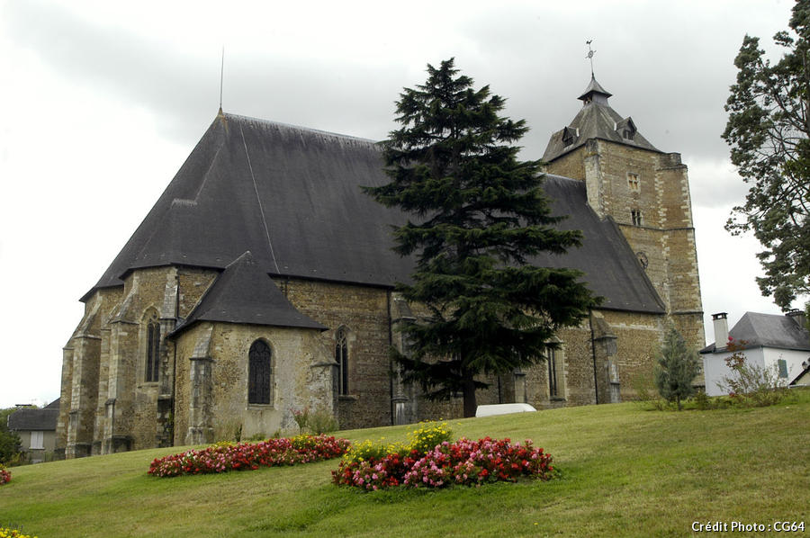 L'église de monein