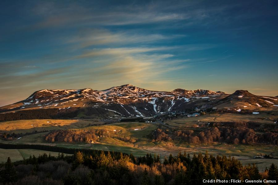 Le Mont Chal en Auvergne
