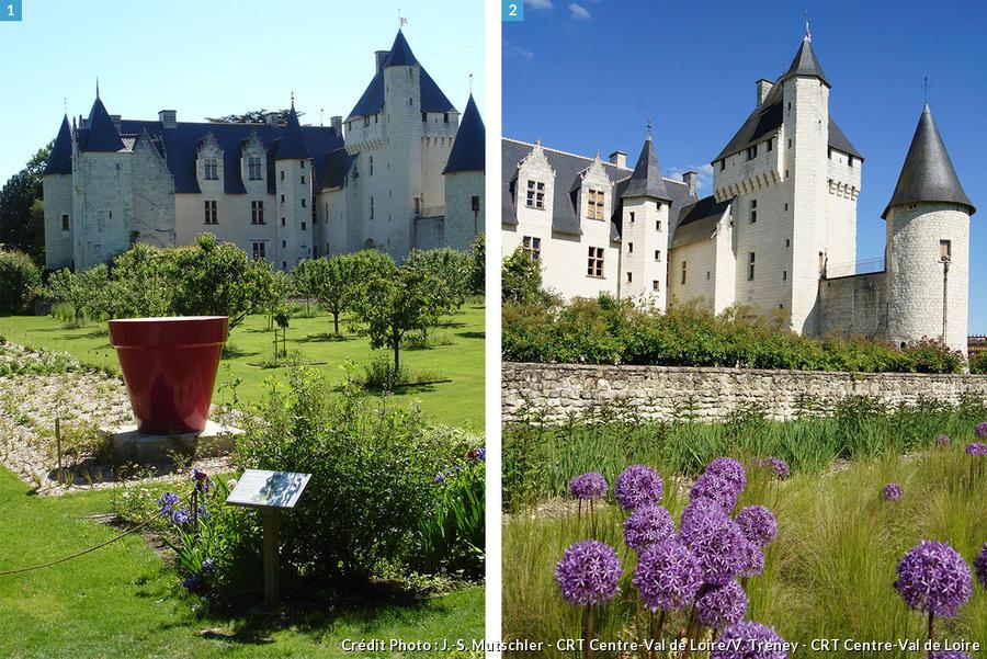 Jardin m di val les plus beaux jardins du moyen ge d tours en france - Les plus beaux jardins de france ...