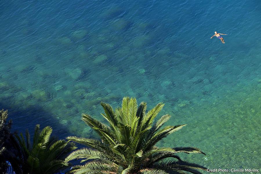 Baigneur à Nice