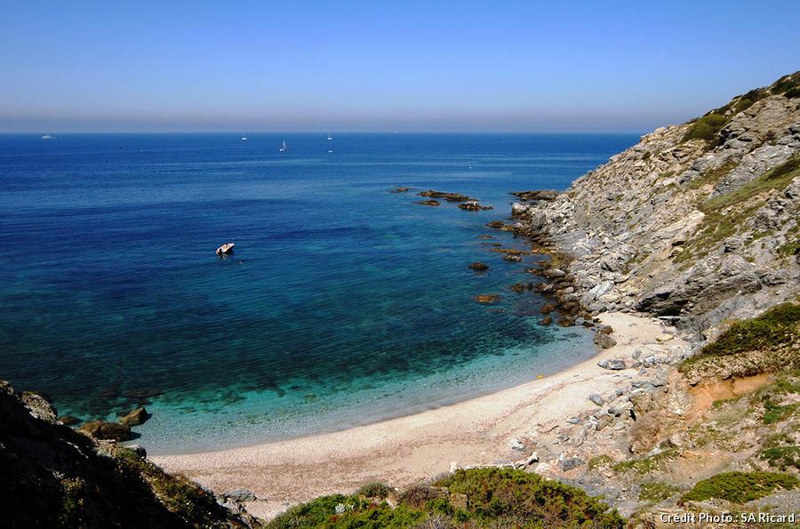 La plage du Rix sur l'île des Embiez