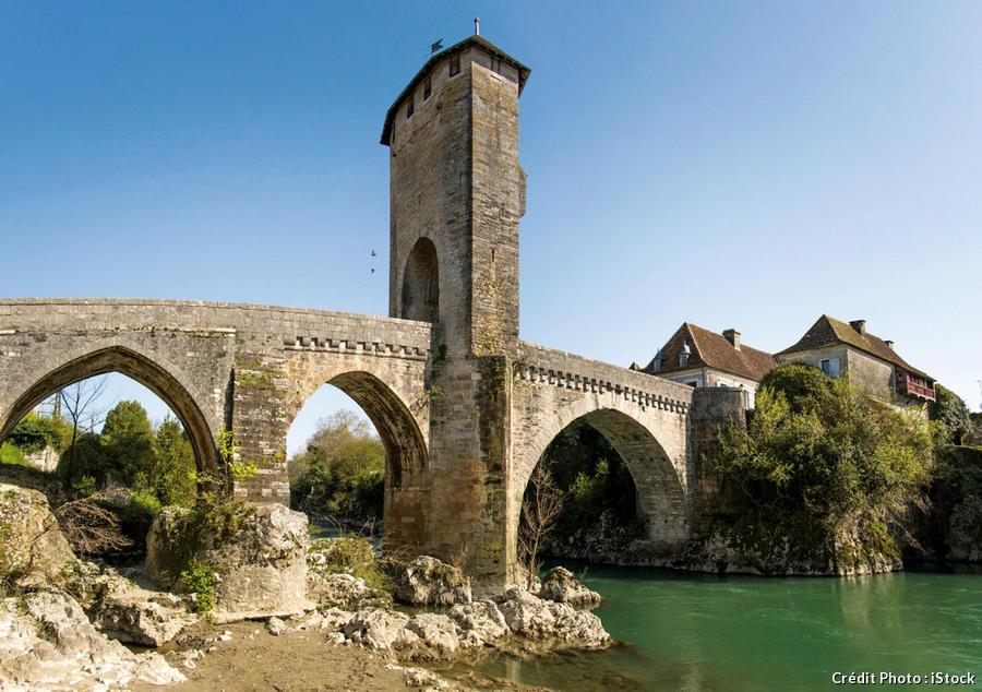 Le pont Vieux d'Orthez