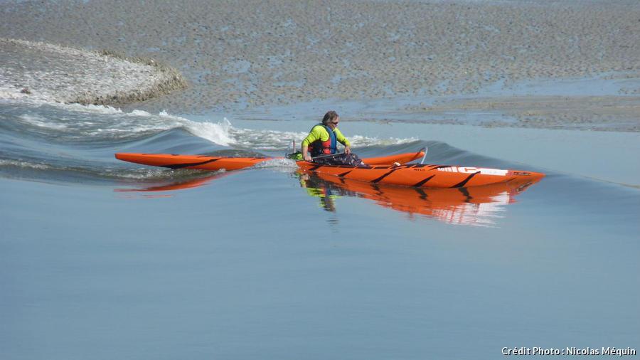 kayak à Saint-Valéry
